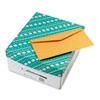 Quality Park Kraft Envelope, Contemporary, #16, Brown Kraft, 500/Box