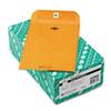 Quality Park Clasp Envelope, 6 1/2 x 9 1/2, 32lb, Brown Kraft, 100/Box