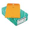 Quality Park Clasp Envelope, 7 1/2 x 10 1/2, 32lb, Brown Kraft, 100/Box
