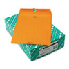 Quality Park Clasp Envelope, 10 x 13, 32lb, Light Brown, 100/Box