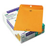 Quality Park Clasp Envelope, 9 1/2 x 12 1/2, 28lb, Brown Kraft, 100/Box