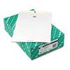 Quality Park Clasp Envelope, 10 x 13, 28lb, White, 100/Box