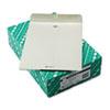 Quality Park Clasp Envelope, 10 x 13, 28lb, Executive Gray, 100/Box
