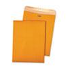 Quality Park 100% Recycled Brown Kraft Clasp Envelope, 10 x 13, Brown Kraft, 100/Box