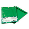 Quality Park Fashion Color Clasp Envelope, 9 x 12, 28lb, Green, 10/Pack