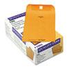 Quality Park Park Ridge Kraft Clasp Envelope, 6 x 9, Brown Kraft, 100/Box