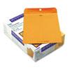 Quality Park Park Ridge Kraft Clasp Envelope, 10 x 13, Brown Kraft, 100/Box
