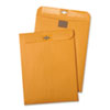 Postage Saving ClearClasp Kraft Envelopes, 6 x 9, Brown Kraft, 100/Box