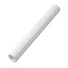 Fiberboard Mailing Tube, Recessed End Plugs, 18 x 2, White, 25/Carton