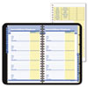 AT-A-GLANCE QuickNotes Recycled QuickNumbers Telephone/Address Book, 4-7/8 x 8, Black