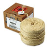 Brown Sisal Two-ply Twine, 1500 Feet