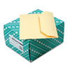 Quality Park Open Side Booklet Envelope, Traditional, 12 x 9, Cameo Buff, 100/Box