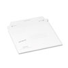 Quality Park Redi-Strip Economy Disk Mailer, 7 1/2 x 6 1/16, White, Recycled, 100/Carton