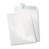 Tech-No-Tear Catalog Envelope, Poly Coating, Side Seam, 9 x 12, White, 100/Box