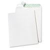 Quality Park Tech-No-Tear Catalog Envelope, Poly Lining, Side Seam, 9 x 12, White, 100/Box