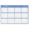 "Vertical/Horizontal Erasable Wall Planner, 48"" x 32"", 2013"