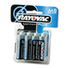 Alkaline Batteries, AA, 8/Pack