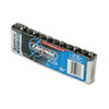 Industrial PLUS Alkaline Batteries, 9V, 6/Pack