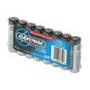 Industrial PLUS Alkaline Batteries, AA, 8/Pack