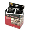 Read Right Tape Head Kleen Pad, Individually Sealed Pads, 5 x 5, 80/Box