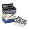 PhoneKleen Wet Wipes, Cloth, 5 x 5, 72/Box