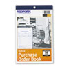 Purchase Order Book, 5 1/2 x 7 7/8 Bottom Punch, Three-Part Carbonless, 50 Forms
