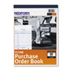 Rediform Purchase Order Book, Bottom Punch, Letter, Two-Part Carbonless, 50 Sets/Book