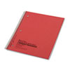 Subject Wirebound Notebook, College/Margin Rule, Ltr, WE, 80 Sheet/Pad