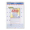 AT-A-GLANCE Recycled Monthly Academic Wall Calendar, Wall, 15 1/2