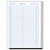 Wirebound Call Register, 8 1/2 x 11, 3,700 Forms/Book