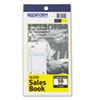Sales Book, 3 5/8 x 6 3/8, Carbonless Triplicate, 50 Sets/Book