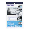 Credit Memo Book, 5 1/2 x 7 7/8, Carbonless Triplicate, 50 Sets/Book