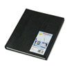 NotePro Undated Daily Planner, 11 x 8-1/2, Black