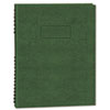 Exec Wirebound Notebook, College/Margin Rule, 9-1/4 x 7-1/4, GRN, 75 Sheets