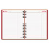 CoilPRO Daily Planner, Ruled, 1 Page/Day, 7-7/8 x 10, Red, 2013