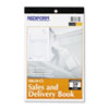 Sales and Delivery Book, 5 1/2 x 8, Carbonless Triplicate, 50 Sets/Book