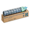 Ricoh 888279 Toner, 5000 Page-Yield, Cyan