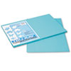 Tru-Ray Construction Paper, 76 lbs., 12 x 18,Turquoise, 50 Sheets/Pack