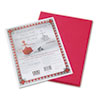 Pacon Riverside Construction Paper, 76 lbs., 9 x 12, Red, 50 Sheets/Pack