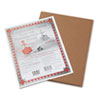 Pacon Riverside Construction Paper, 76 lbs., 9 x 12, Brown, 50 Sheets/Pack