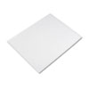 Pacon Four-Ply Poster Board, 28 x 22, White, 25/Carton
