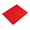 Colored Four-Ply Poster Board, 28 x 22, Red, 25/Carton