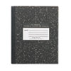 Marble Cover Composition Book, Wide Rule, 8-1/2 x 7, 36 Pages