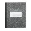 Marble Cover Composition Book, Wide Rule, 8-1/2 x 7, 48 Pages