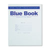 Exam Blue Book, Wide Rule, 8-1/2 x 7, White, 8 Sheets/16 Pages