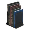 Rolodex Mesh Bookends, Steel, 5 1/4 x 6 1/4 x 5, Steel, Black