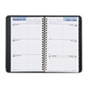"Recycled Weekly Appointment Book, Black, 4 7/8"" x 8"", 2013"