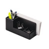 Rolodex Wood Tones Desk Organizer, Wood, 4 1/4 x 8 3/4 x 4 1/8, Black
