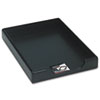 Rolodex Wood Tones Legal Desk Tray, Wood, Black