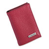 Rolodex Low Profile Personal Card Case, 36-Card Capacity, 2 3/4 x 4, Red